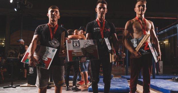 Определились чемпионы Украины по воркауту