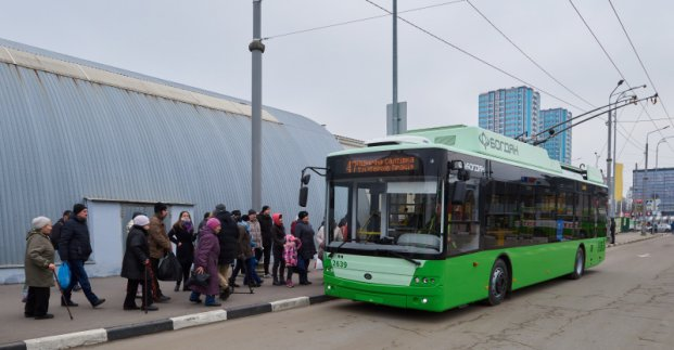 У Харкові планують оновити 80% тролейбусів