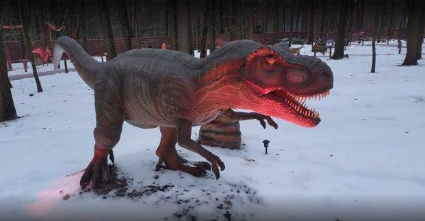 В Харькове открыли парк динозавров