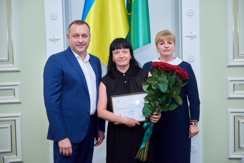 У міськраді нагородили працівників КП «Муніципальна компанія поводження з відходами»
