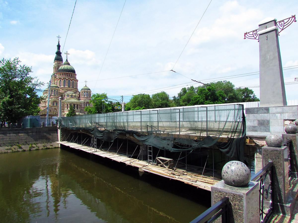По Купецькому мосту до вересня закривають рух