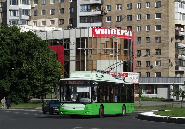 Тролейбуси № 5 і 6 завтра змінять маршрути руху