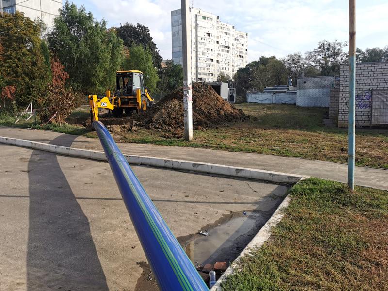 У Шевченківському районі замінили понад 6 кілометрів мереж холодного водопостачання