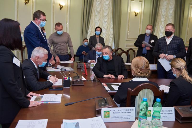 Ігор Терехов зустрівся з викладачами університету харчування і торгівлі