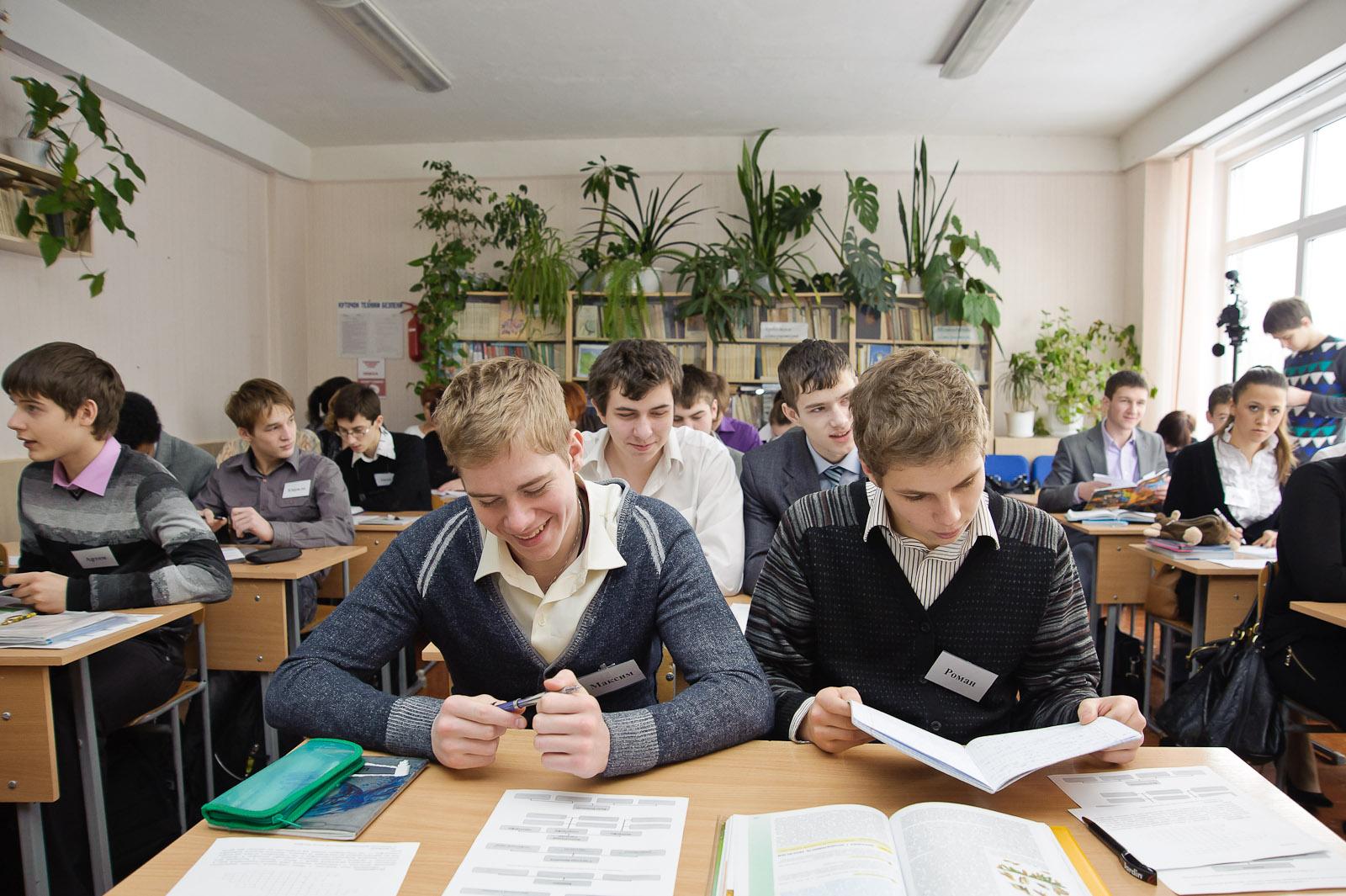 Харківські школярі повернулися за парти