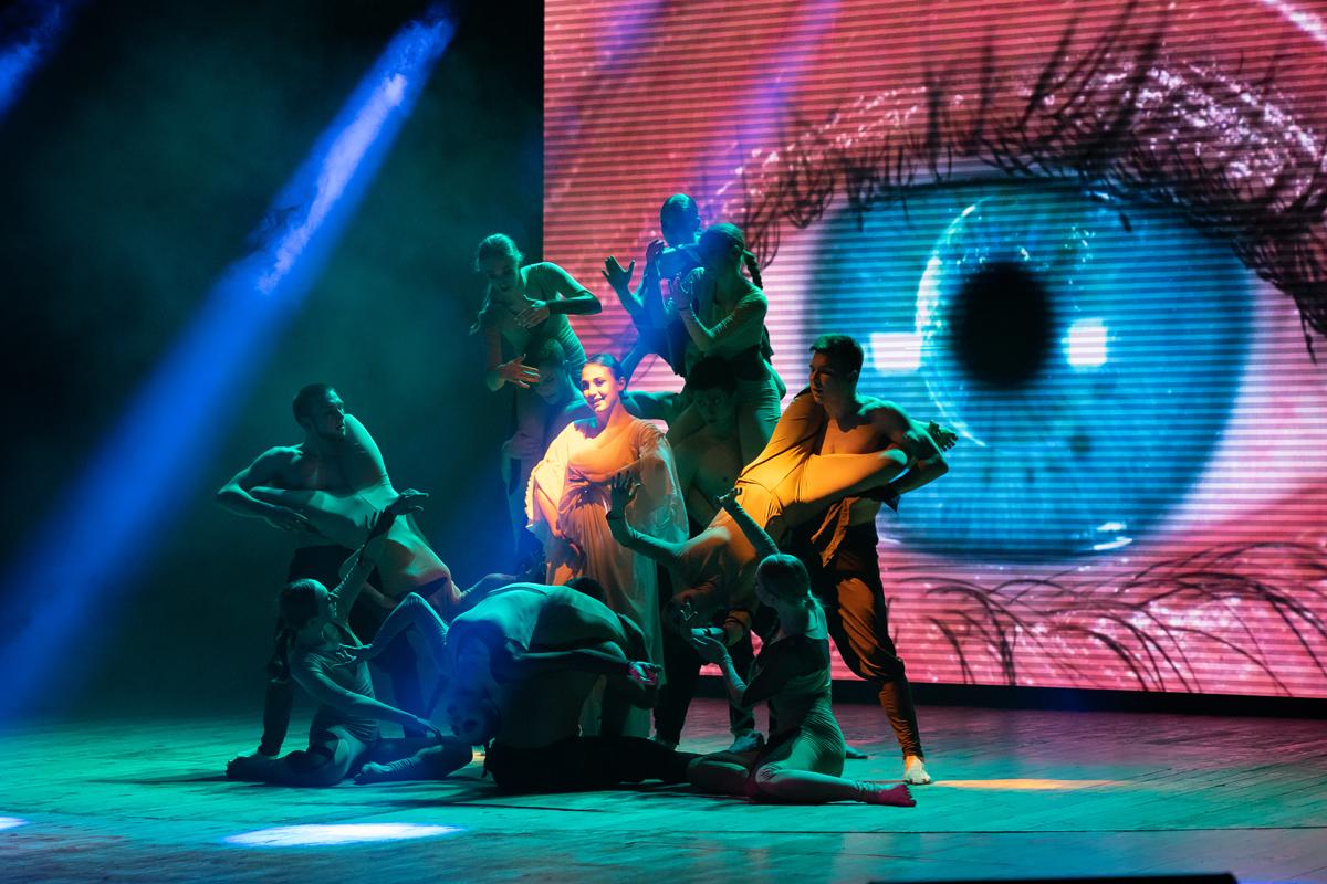 Ансамбль сучасного танцю «Естет» відсвяткував 20-річний ювілей