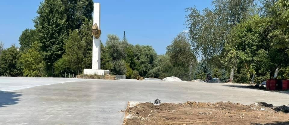 У місті триває реконструкція парку «Юність»
