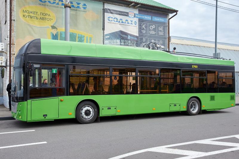 У Харкові вводяться нові тролейбусні маршрути на Рогань