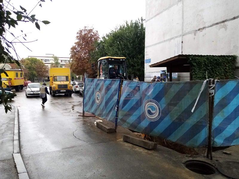 У Шевченківському районі замінюють мережі холодного водопостачання