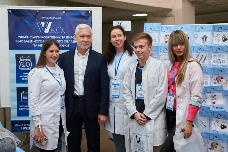 Ігор Терехов відкрив медичну конференцію