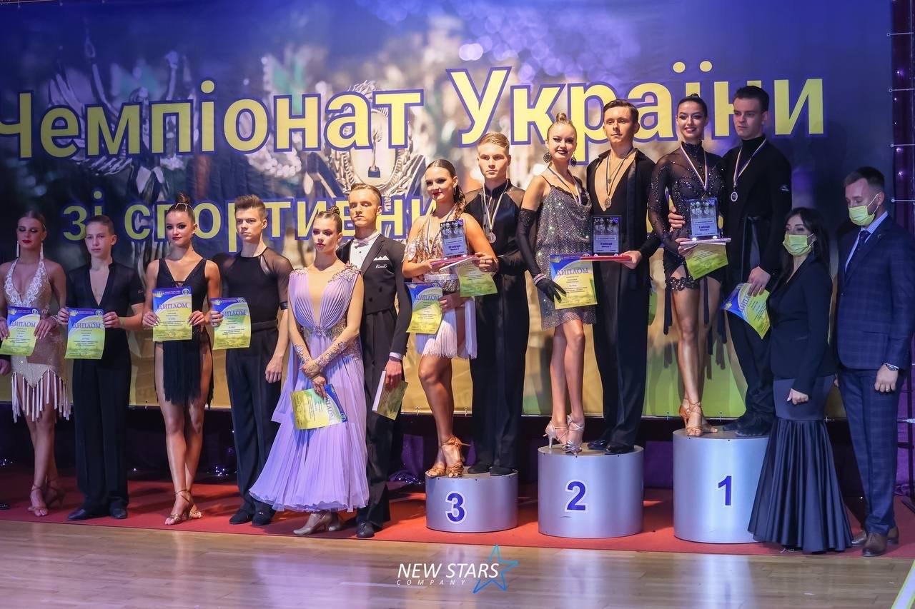У Харкові пройшов Чемпіонат України зі спортивних танців