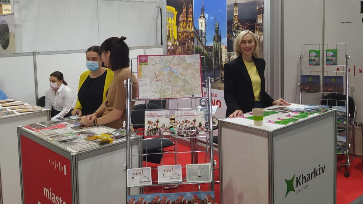 Харків представили на крупній туристичній виставці в Польщі