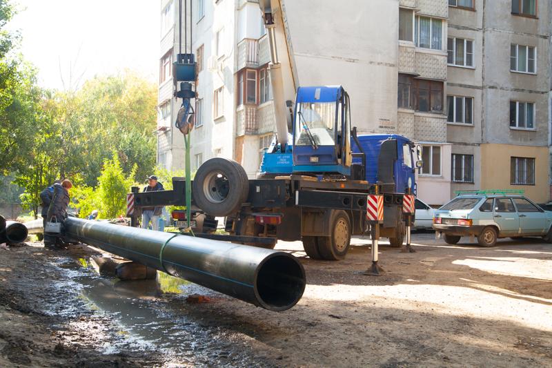 «Харківводоканал» замінив понад 20 км мереж водопостачання