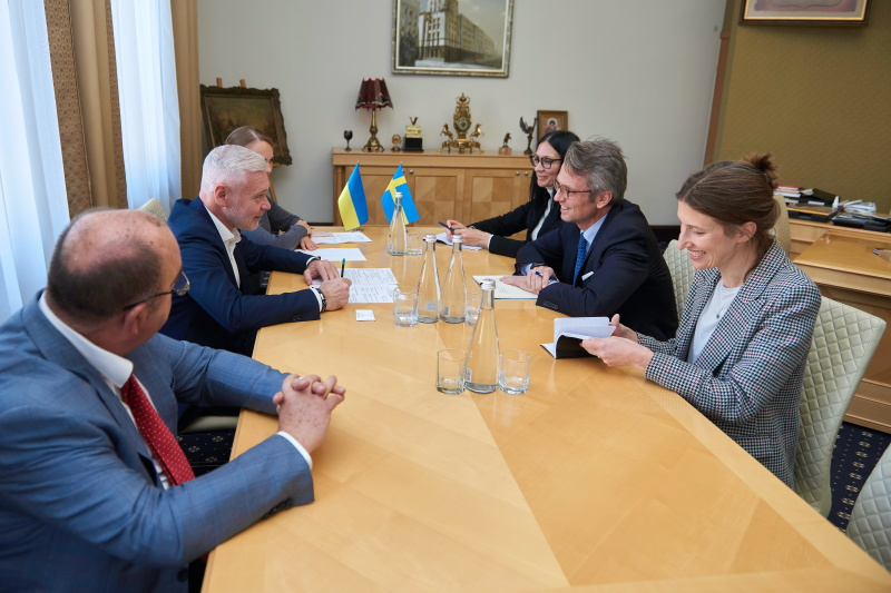 Харків і Швеція розвивають співробітництво