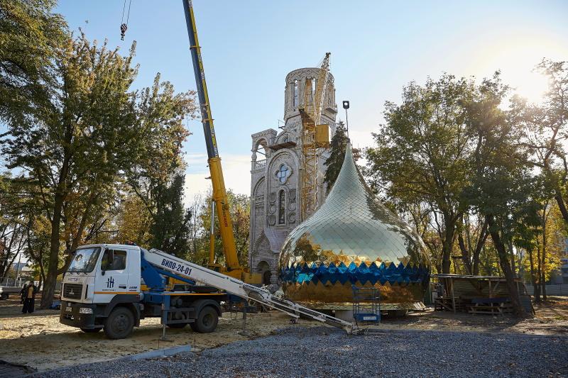 У Харкові триває будівництво нового храму