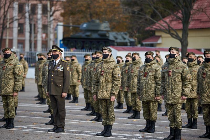 Харківські кадети дали клятву продовжувати традиції українського війська