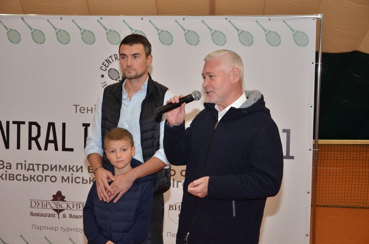 У Харкові пройшов турнір з тенісу серед аматорів