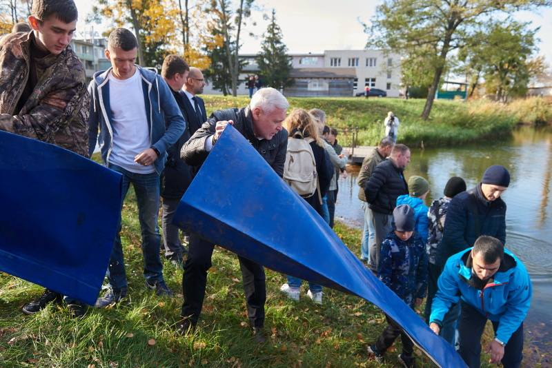 У Харкові облаштовують ще одну рекреаційну зону біля води