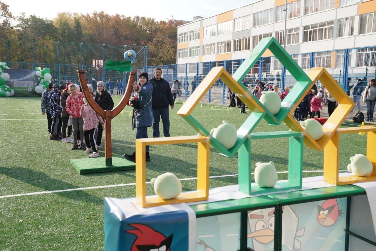 В одній з харківських шкіл організували «Спортивні канікули»