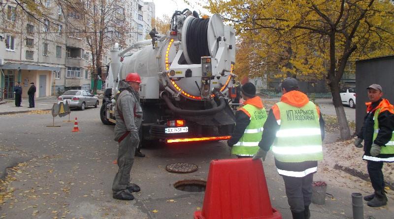 В Основ'янському районі прочистили 45 кілометрів мереж водовідведення